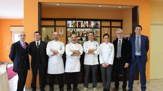 team chef scuola alberghiera agliano