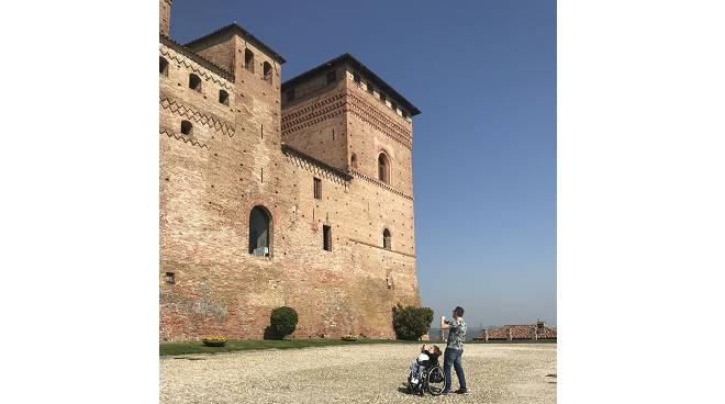 castello grinzane accessibilità