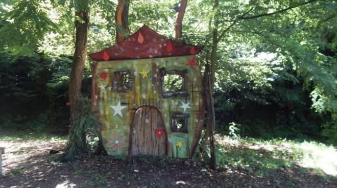 la casa nel bosco fatato