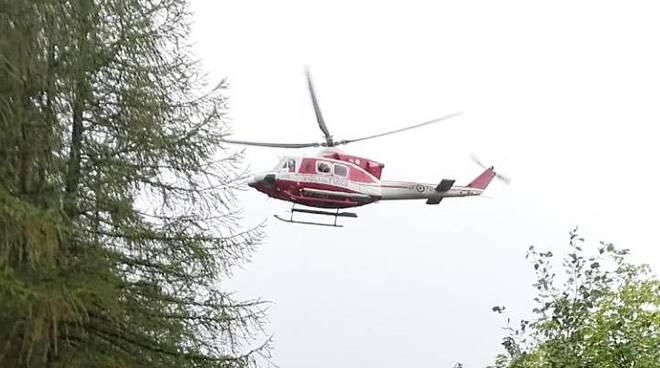 elicottero vigili del fuoco genova