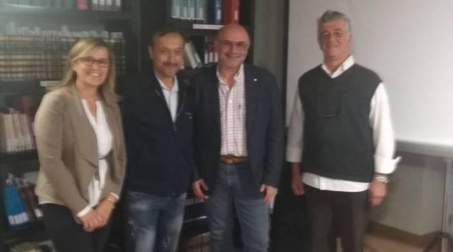 Gina Terzano e Claudio Bevilacqua, Dott. Franco Testore, Bibliotecario Danilo Gaveglio