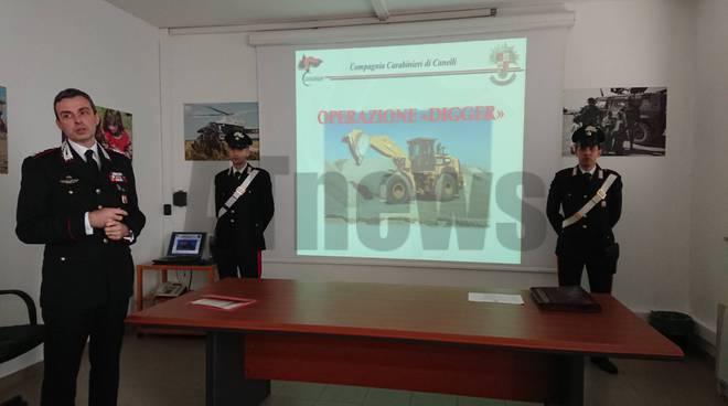 Carabinieri operazione drigger
