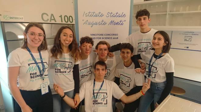 Inaugurazione laboratorio Istituto Monti Asti