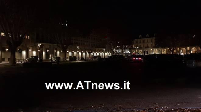 piazza alfieri illuminazione notturna
