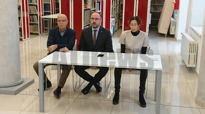Conferenza stampa biblioteca
