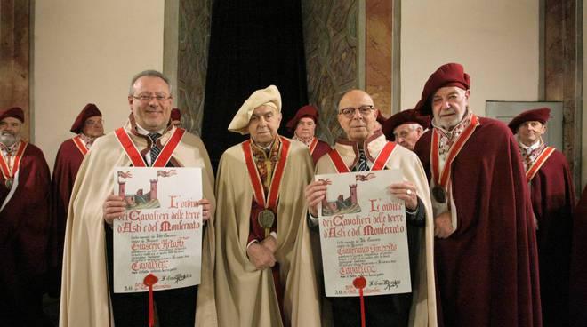 Ordine dei Cavalieri delle terre di Asti e del Monferrato auguri 2018