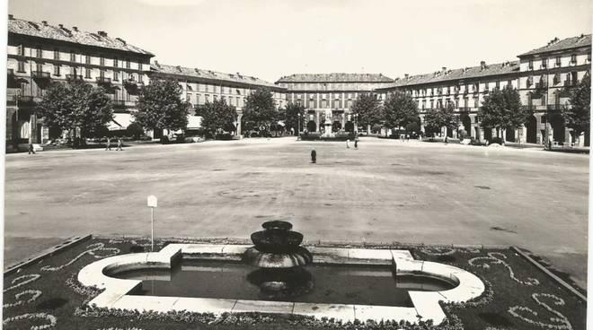 Piazza Alfieri vintage