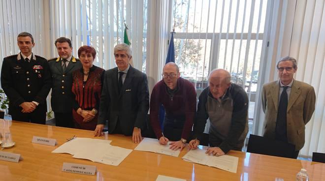 Protocollo vicinato Viarigi e Castelnuovo calcea