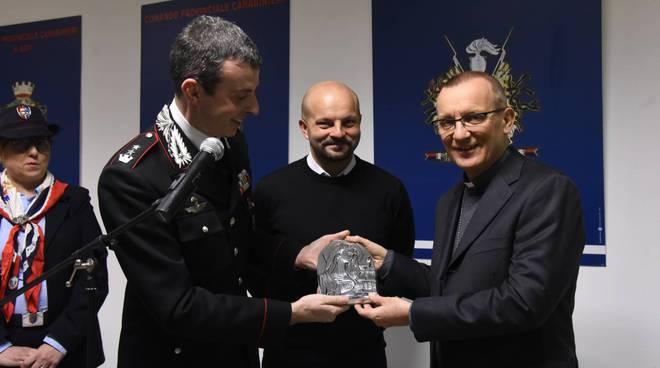 Visita vescovo Carabinieri