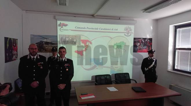 Conferenza stampa Carabinieri 27022019