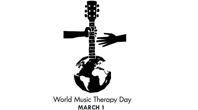 logo world music therapy day