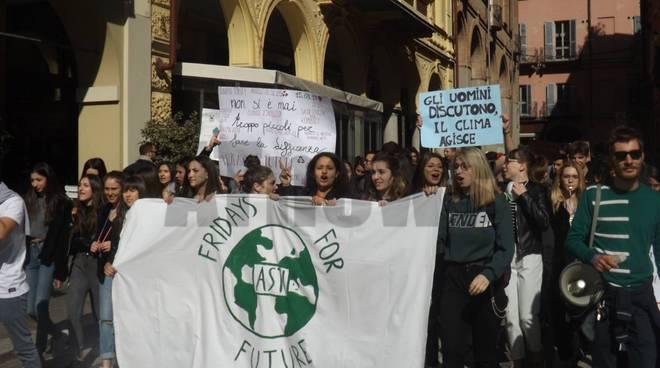climate strike asti