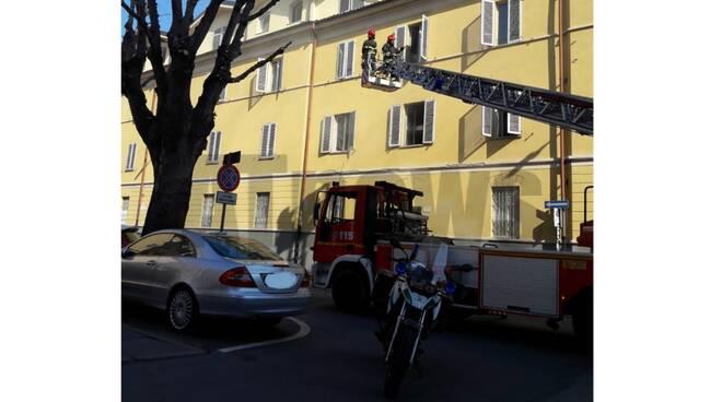 incendio in via dogliotti 30032019