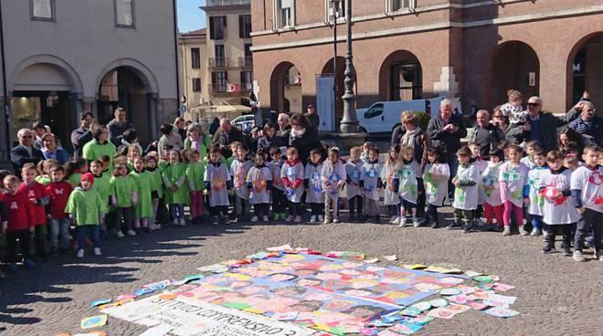Scuole Infanzia IC3 Asti in piazza per la Settimana dell'Arte