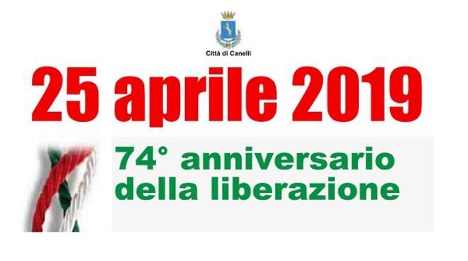 25 aprile canelli