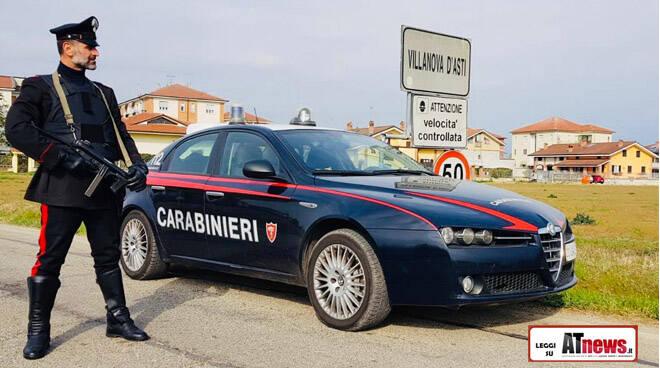 carabinieri villanova d'asti