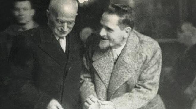 luigi einaudi con Teodoro Bubbio