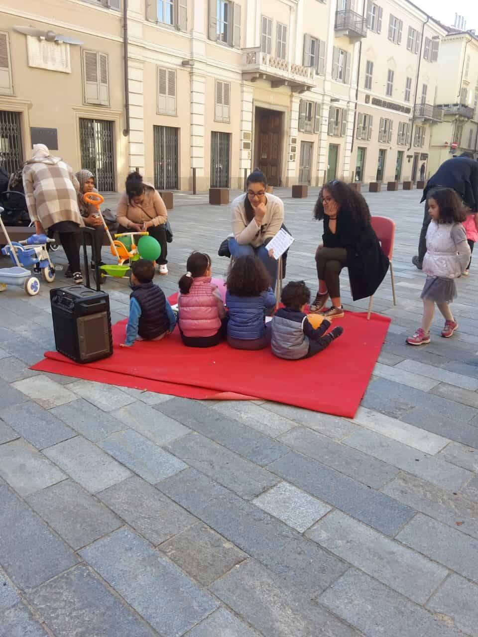 Oratorio Nizza Monferrato in piazza per la Fiera del Santo Cristo 2019