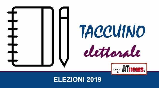 taccuino elettorale 2019