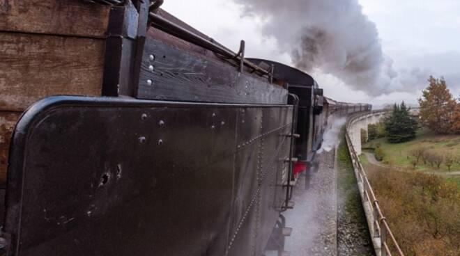treno storico neive