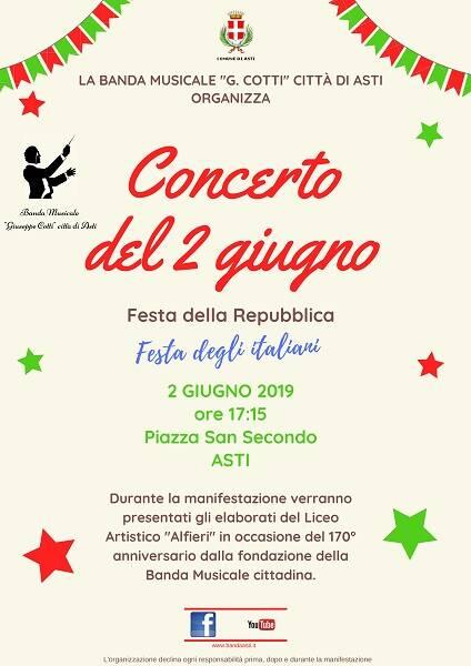 festa della repubblica concerto