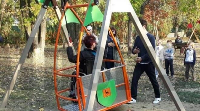 parchi gioco inclusivi