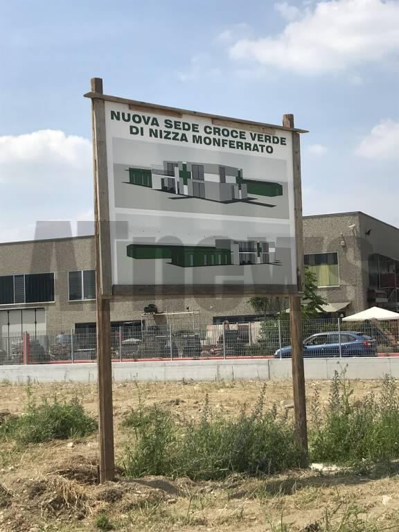 La Croce Verde di Nizza trasloca: al via i lavori di costruzione della nuova sede
