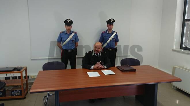 Conferenza stampa carabinieri 12062019