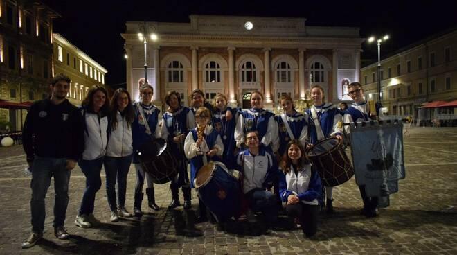 """Gli Alfieri"""" Sbandieratori e Musici di Costigliole d'Asti under 15"""