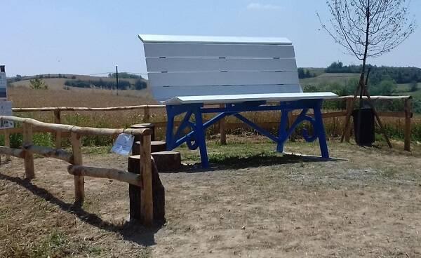 panchina gigante perrona calliano