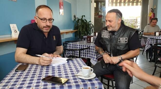 un caffè con il sindaco