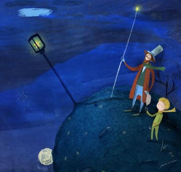 Une étoile de plus, il piccolo pricipe, il mondo del piccolo principe