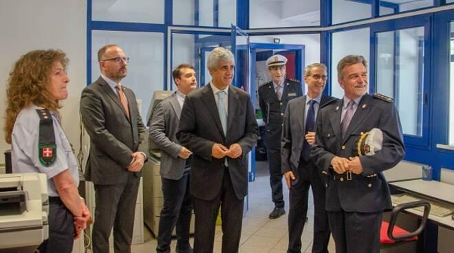 visita prefetto polizia municipale