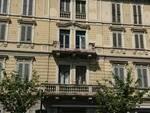 balcone danneggiato piazza marconi