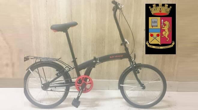 bici rubata recuperata polizia 09072019