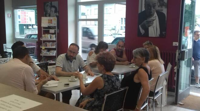 Caffè con il sindaco Maurizio Rasero
