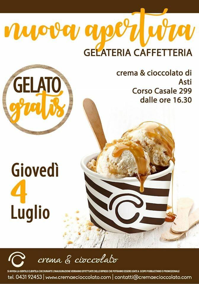 gelateria crema e cioccolato