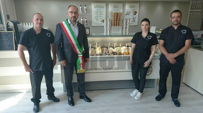 Inaugurazione Crema & Cioccolato corso Casale