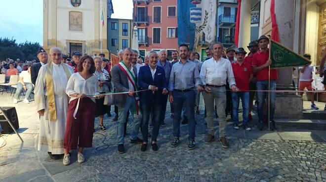 Inaugurazione Piazza San Giacomo ad Agliano Terme