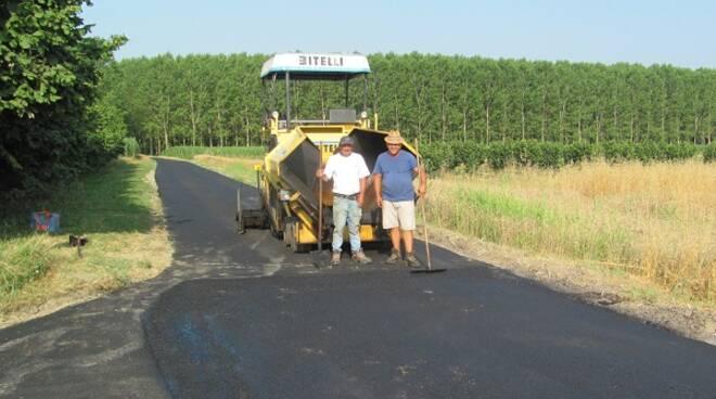 lavori asfaltatura vinchio