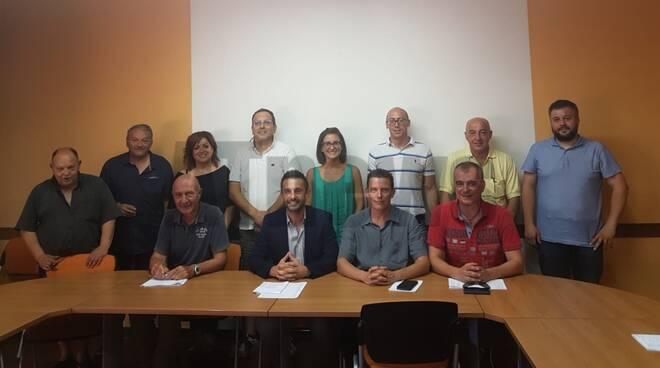 nuovo consiglio comunità collinare val tiglione e dintorni 2019