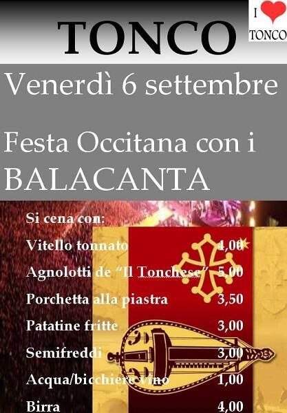 festa occitana tonco