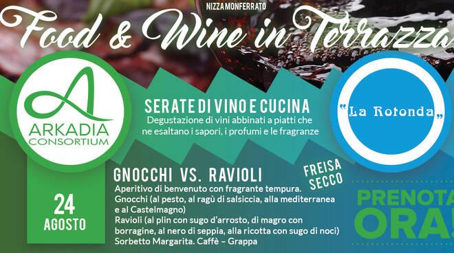 food e wine 24 agosto