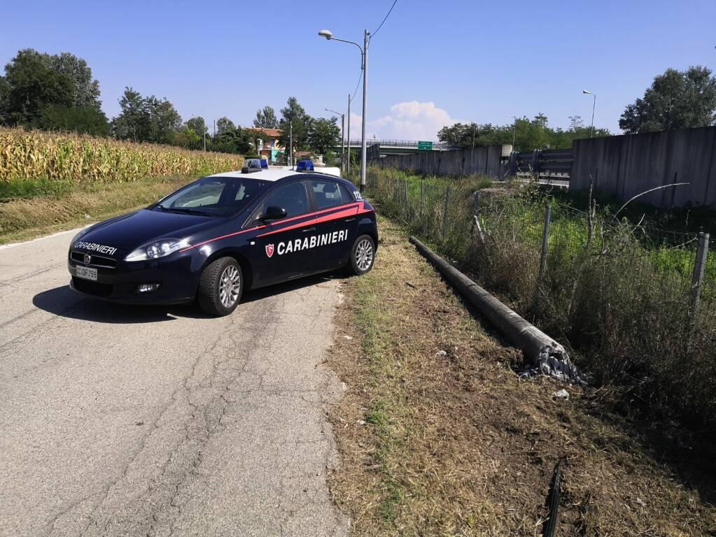 inseguimento e incidente carabinieri 29082019