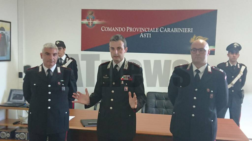 carabinieri conferenza sequestro nizza