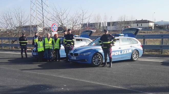 controlli polizia stradale su trasporto alimenti