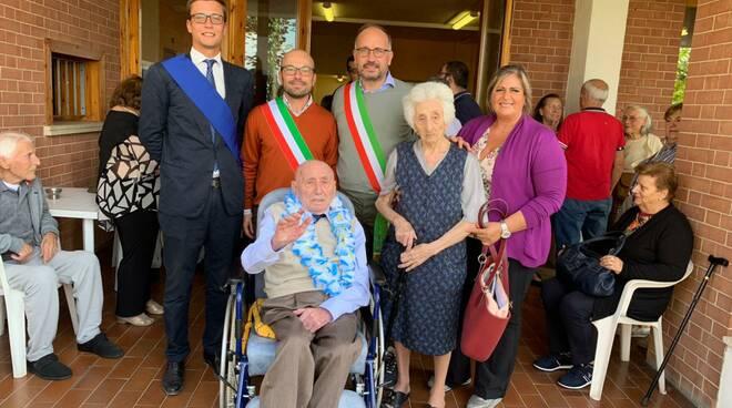 Guerrino Meschia, centenario a portacomaro