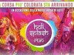 holi splash run asti