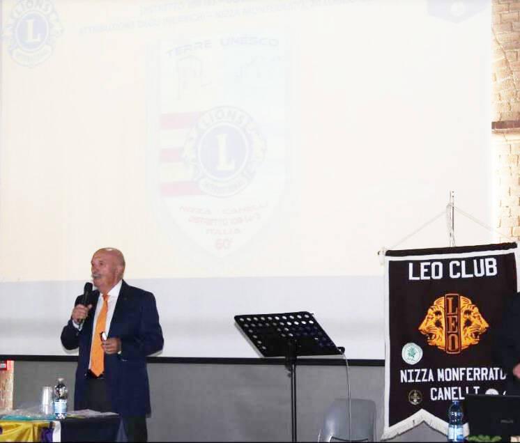 lions club nizza monferrato canelli e il barattolo d'emergenza lions