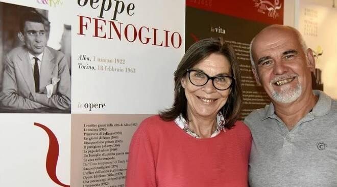 Margherita Fenoglio e Mario Renosio al Pavaglione